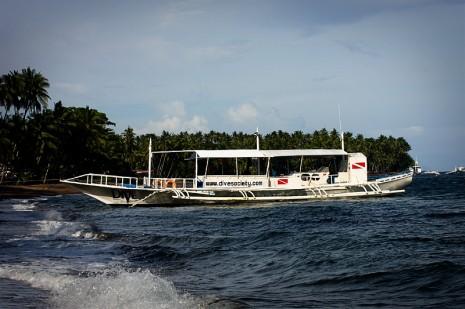 Dive Society Boat