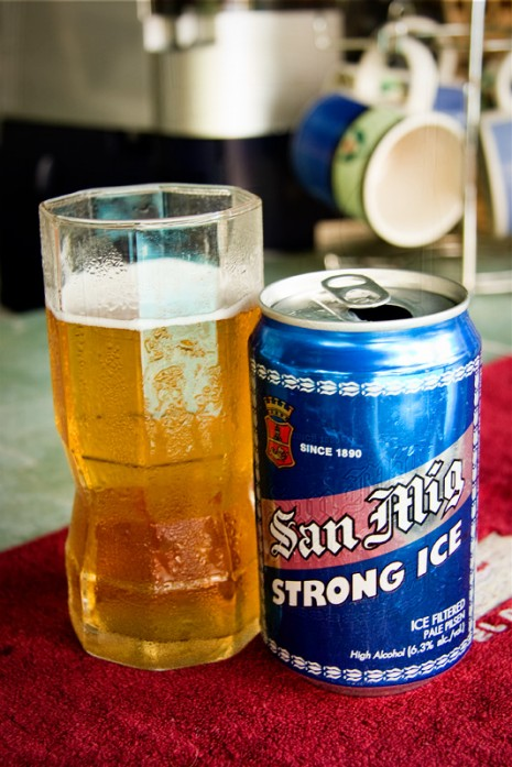 San Miguel Strong Ice