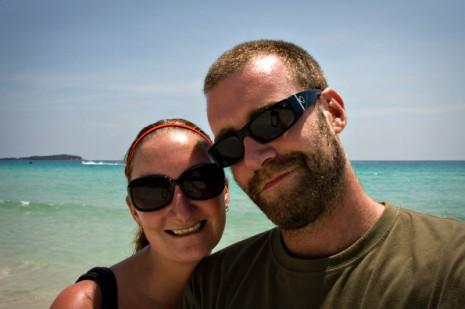 Mike and I - Chawneg Beach