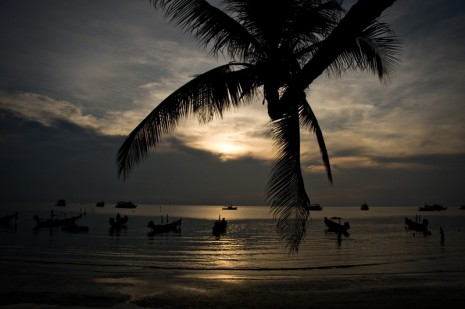 sunset Koh Tao