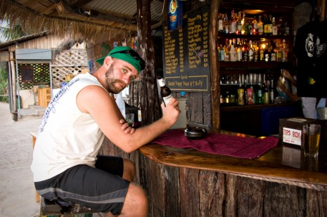 Mike @ the Lotus Bar - Koh Tao