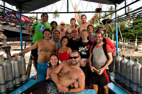 diving, koh tao, thailand