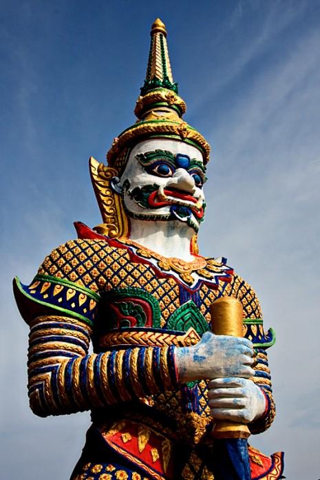 Guarding Buddha
