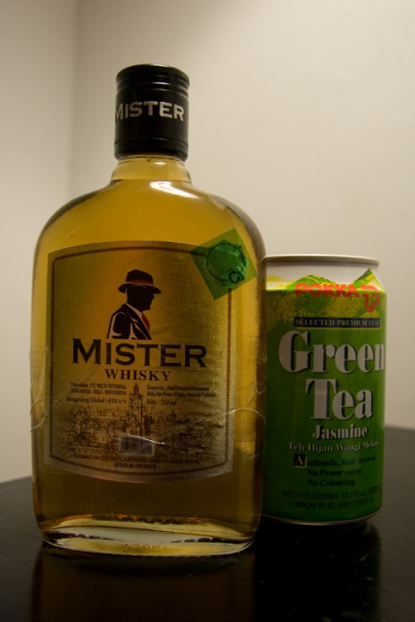 Mister Whisky and Green Tea?