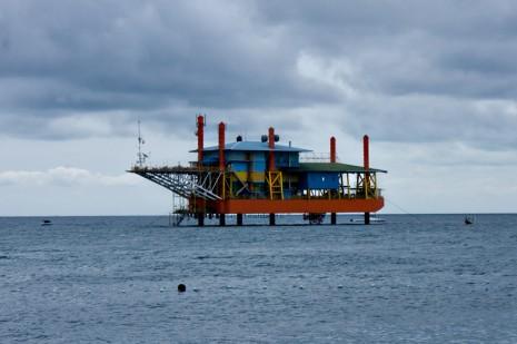 SeaVentures Oil Rig, Mabul, Borneo