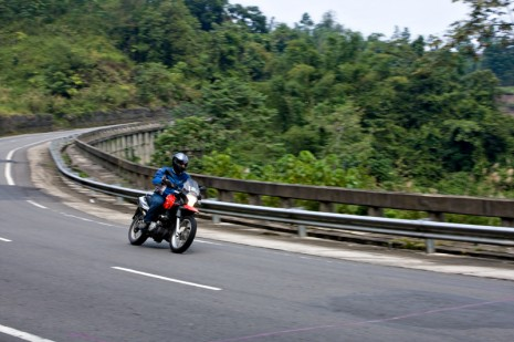 Deserted Borneo Highway