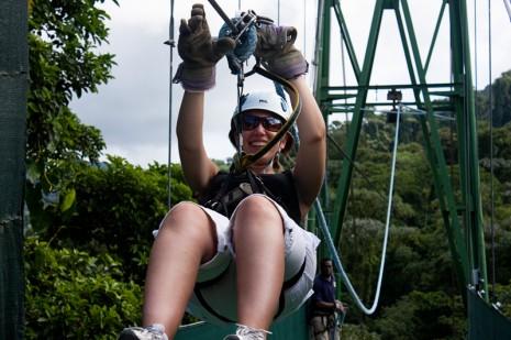 Lauren @ Sky Trek Arenal Volcano