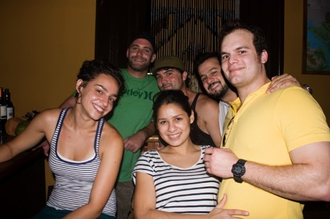Night out in Granada, Nicaragua