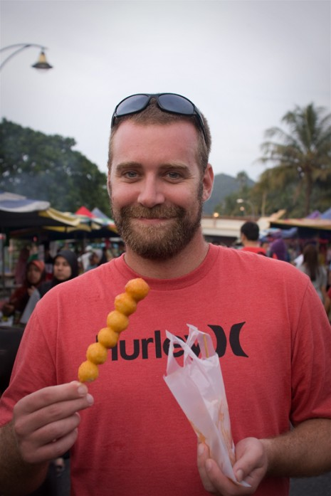 Fish Balls - Kuha Night Market, Langkawi, Malaysia