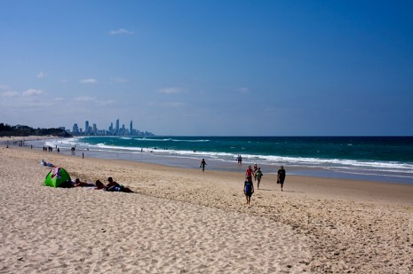 View to Surfer's Paradise